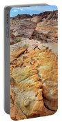 Vein Of Gold In Valley Of Fire State Park Portable Battery Charger