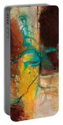 Vein Turquoise Portable Battery Charger