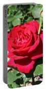 Velvet Red Rose Portable Battery Charger
