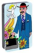 Ven. Jose Gregorio Hernandez - Mmvjh Portable Battery Charger