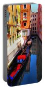 Venetian Canal Portable Battery Charger by Jeff Kolker