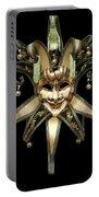 Venetian Mask Portable Battery Charger by Fabrizio Troiani
