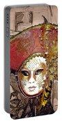 Venetian Mask Portable Battery Charger