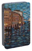 Venice At Night Portable Battery Charger