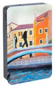Venice Canal Painting Portable Battery Charger