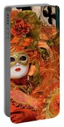 Venice Carnival Mask Italy Portable Battery Charger