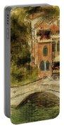 Venice City Of Bridges Portable Battery Charger