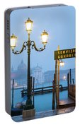 Venice Dawn Across The Lagoon Portable Battery Charger