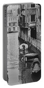 Venice Docked Boats Portable Battery Charger
