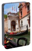 Venice From A Gondola Portable Battery Charger