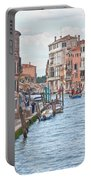 Venice In Pastel  Portable Battery Charger