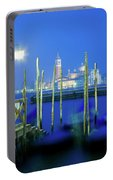 Venice Lagoon At Dusk Portable Battery Charger