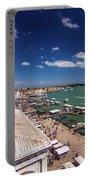 Venice Lagoon Panorama - Bird View Portable Battery Charger
