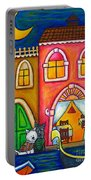 Venice Valentine Portable Battery Charger