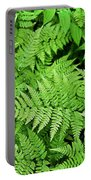 Verdant Ferns Portable Battery Charger