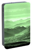 Verdant Hills Of The Tonto Portable Battery Charger