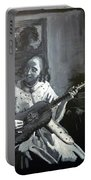 Vermeer Guitar Player Portable Battery Charger