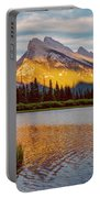 Vermillion Lakes And Mt Rundle II Portable Battery Charger