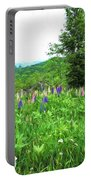 Vermont Lupine Portable Battery Charger