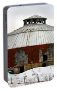 Vermont Round Barn Portable Battery Charger