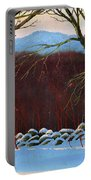 Vermont Stone Wall Portable Battery Charger