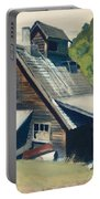 Vermont Sugar House Portable Battery Charger by Edward Hopper