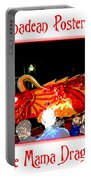 Vernadean Posterized - The Mama Dragon Portable Battery Charger