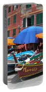 Vernazza Boats Portable Battery Charger