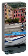 Vernazza Fishing Boats Portable Battery Charger