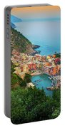 Vernazza From Above Portable Battery Charger