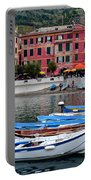 Vernazza Harbor Portable Battery Charger