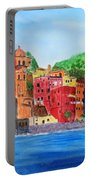 Vernazza Italy Portable Battery Charger