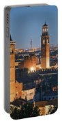 Verona At Night Portable Battery Charger