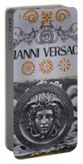 Versace Logo Portable Battery Charger
