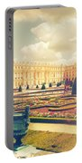 Versailles Gardens And Palace In Shabby Chic Style Portable Battery Charger