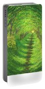 Vertical Tree Tunnel Portable Battery Charger
