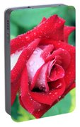 Very Dewy Rose Portable Battery Charger