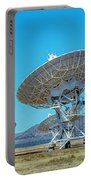 Very Large Array Side View Portable Battery Charger