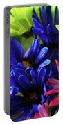 Vibrant Chrysanthemums Portable Battery Charger