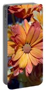 Vibrant Daisies Portable Battery Charger