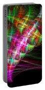 Vibrant Energy Swirls Portable Battery Charger