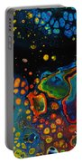 Vibrant Galaxy. Portable Battery Charger
