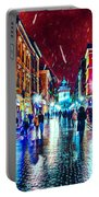 Vibrant Night Life Portable Battery Charger