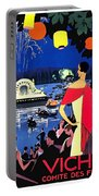 Vichy, Firework At Celebration Night Portable Battery Charger