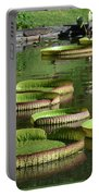 Victoria Amazonica Giant Lily Pads  Portable Battery Charger