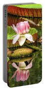 Victoria Cruziana Waterlily Portable Battery Charger