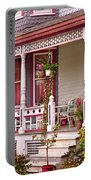 Victorian - Belvidere Nj - The Beauty Of Spring  Portable Battery Charger by Mike Savad