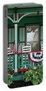 Victorian House And Garden. Portable Battery Charger
