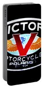 Victory Motorcycles Emblem Portable Battery Charger