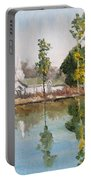 View Across The Pond Portable Battery Charger